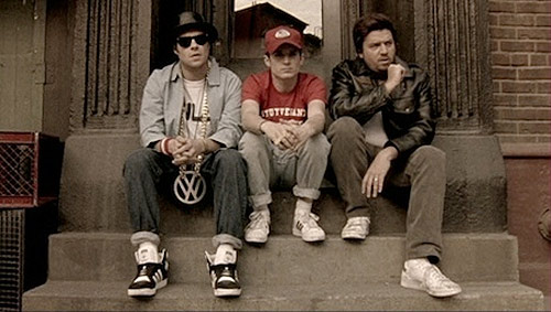 beastie boys film adam yauch seth rogen elijah wood Danny Mcbride fight for your right revisited