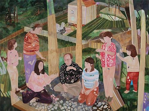 artist painter painting jaqueline cedar