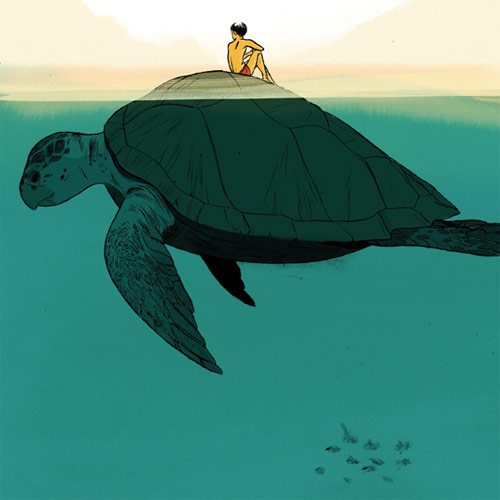illustrations by illustrator jillian tamaki