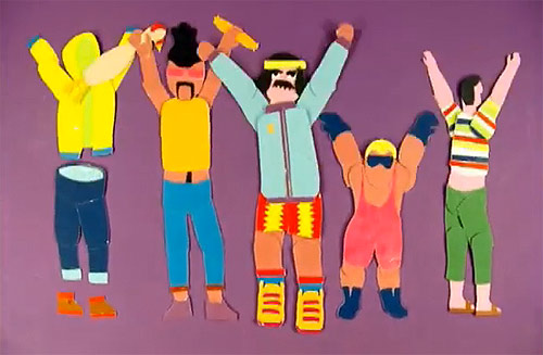 Supersize by Klement music video stop-motion animation created by Chateau-vacant