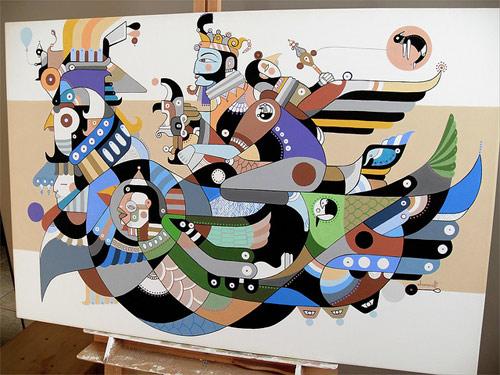 artist painter painting fernando chamarelli