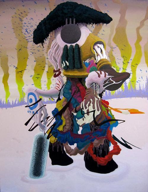 artist painter painting oki-chu