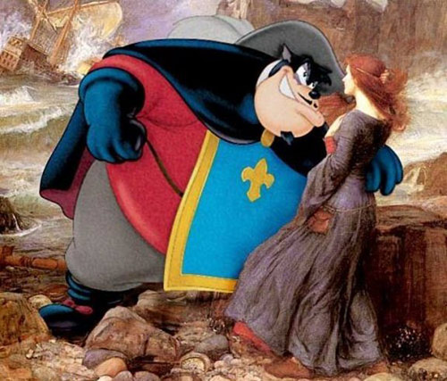 when art meets cartoons famous works of art