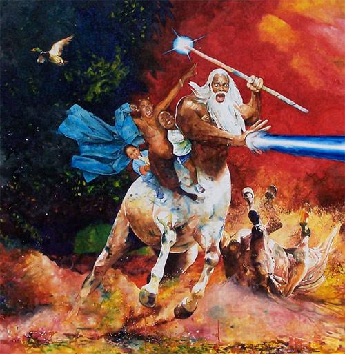 conrad ruiz art celeb pop culture paintings watercolor