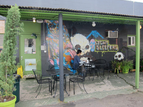 art event hawaii fresh cafe pow wow
