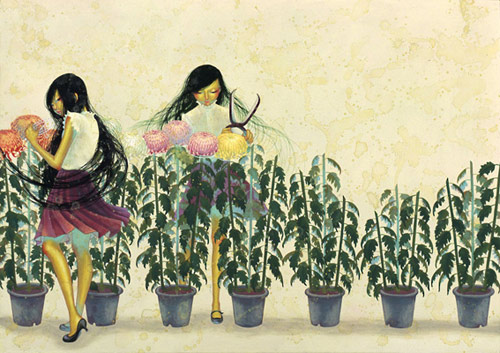 artist painter painting fuco ueda