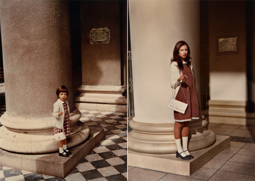 photographer photography irina werning back to the future re-creations of old photographs
