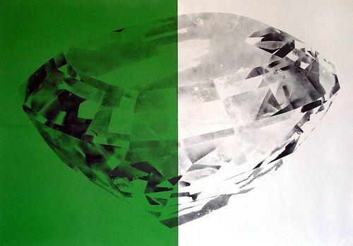 Spray paint works by Luke Dowd