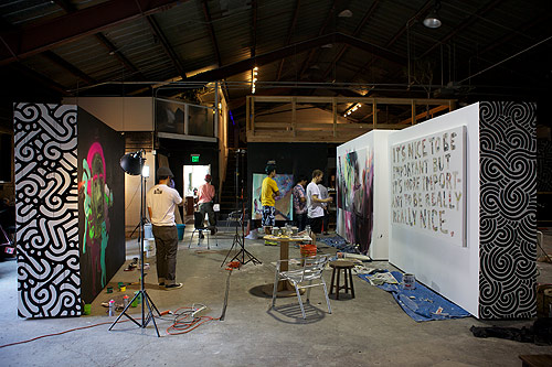 pow wow hawaii art live painting event full recap photos
