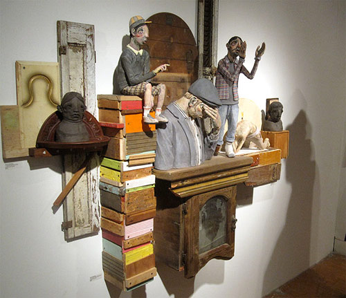 sculptures by artist derek weisberg
