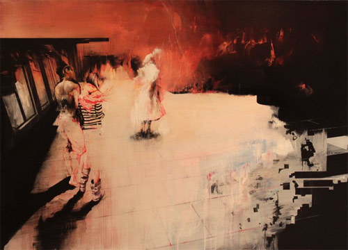 artist painter painting ian francis