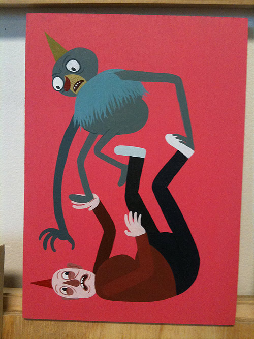 artist painter painting jeremy tinder