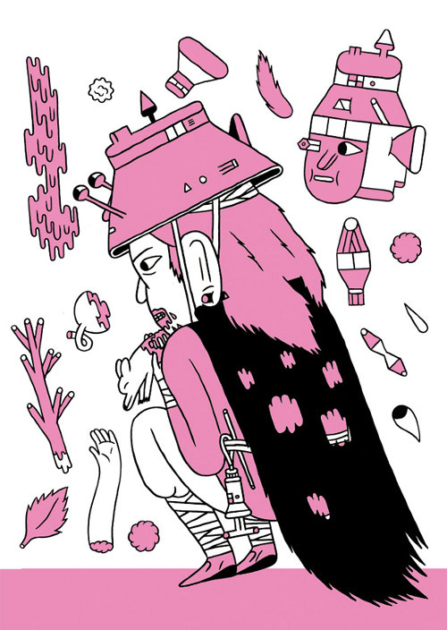 artist illustrator jon boam illustration