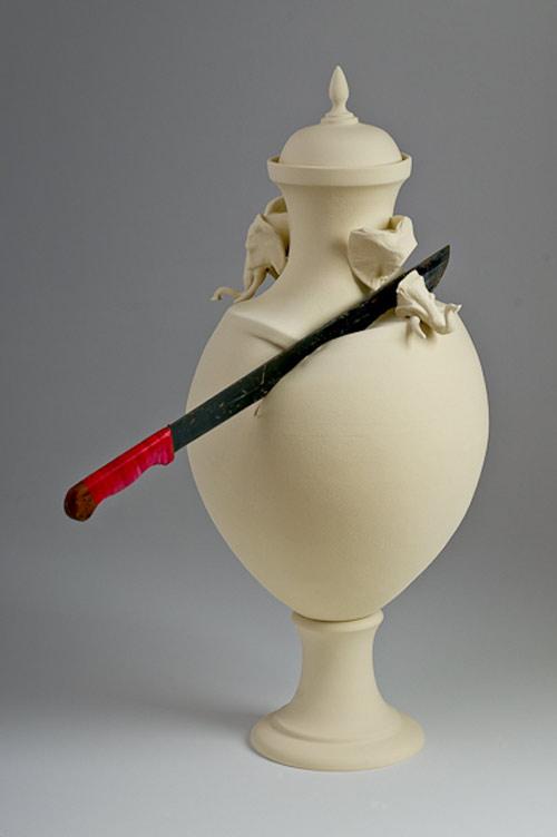 sculptures by artist laurent craste