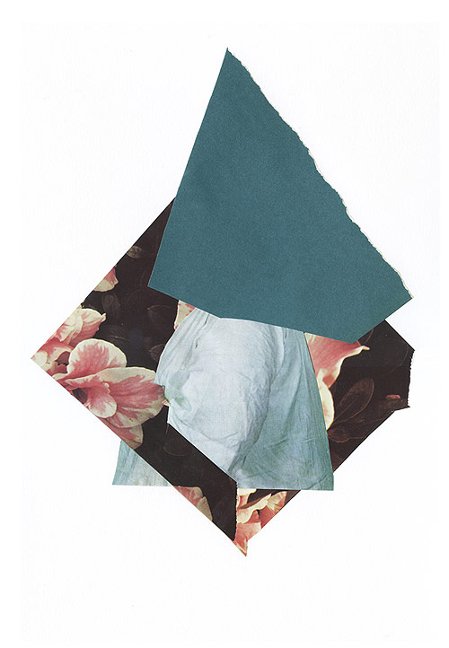 collages by artist laurie kang