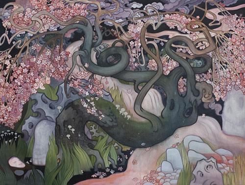 artist painter painting rick leong