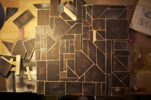 wooden art by artist do-it