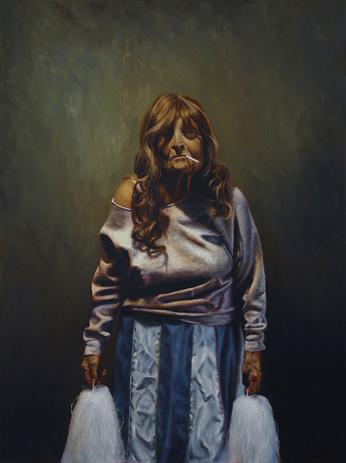 Artist painter Jason Bard Yarmosky painting