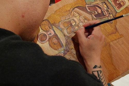 Aaron de la Cruz Samuel Rodriguez Mano y Mano at Above Second Gallery