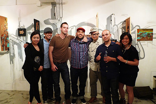 Aaron de la Cruz Samuel Rodriguez Mano y Mano at Above Second Gallery