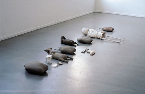 sculptures by artist mark manders