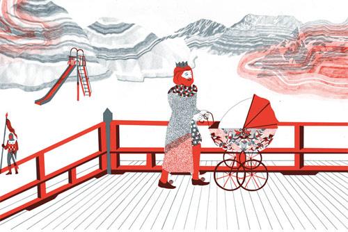 illustrator mayumi otero illustration