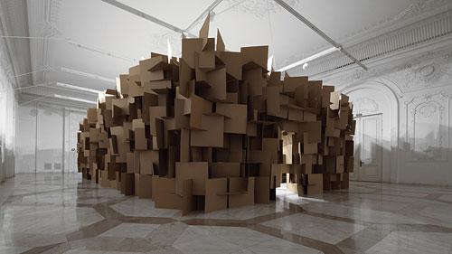 prepared-dc-motors-cardboard-boxes-sound-sculptures-by-zimoun