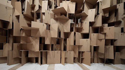 prepared-dc-motors-cardboard-boxes-sound-sculptures-by-zimoun