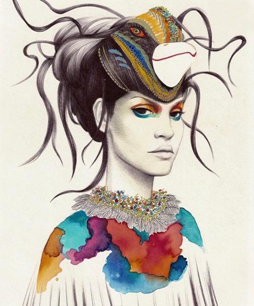 Artist Camila do Rosario painter painting