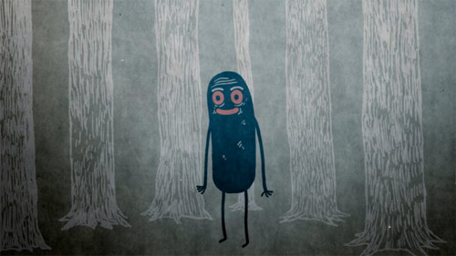 Black Forest animation by Charles Huettner for Loop De Loop