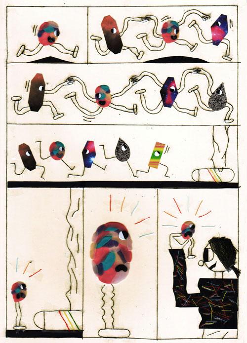 Artist Gregoire Dacquin