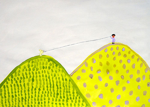 Japanese Illustrator Itsuko Suzuki illustration