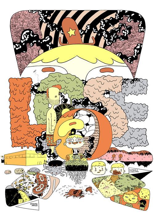 Comic artist Michael DeForge