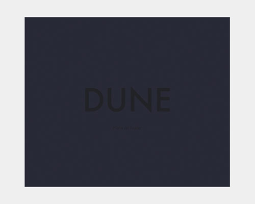 Dune photo book by Misha de Ridder