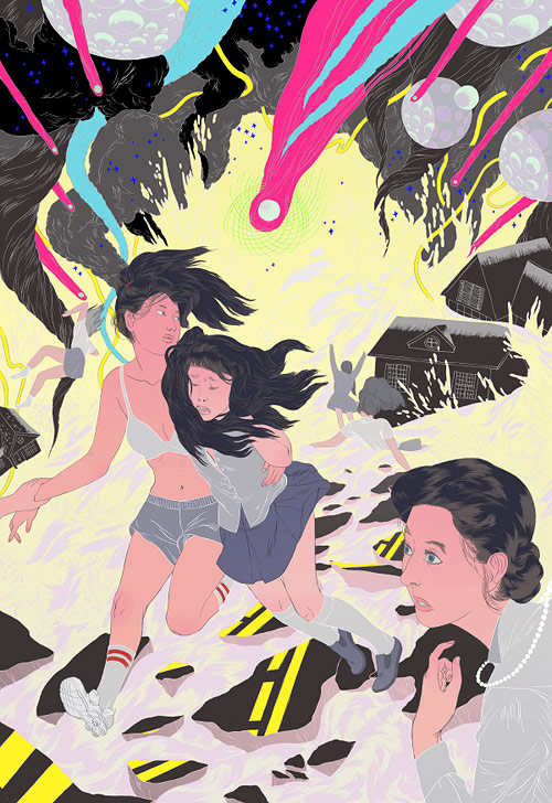 Illustrator Angie Wang illustration drawings