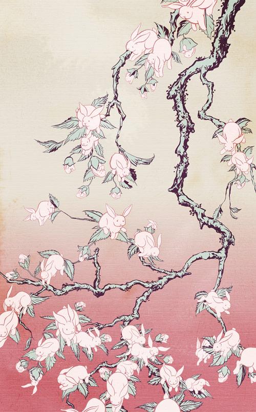 Booooooom x Artifact Puzzles Kozyndan Bunny Blossoms giveaway