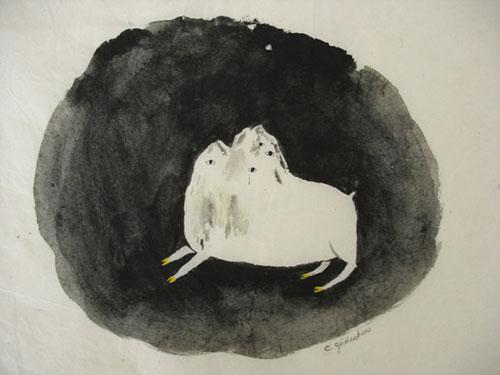 Artist Caroline Gaedechens