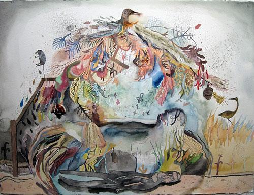 Artist Corey Corcoran