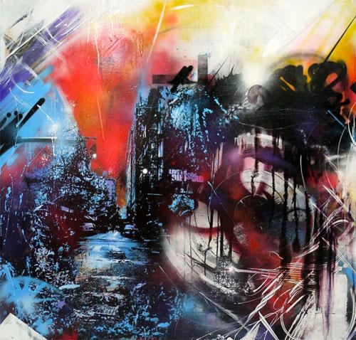 artists Dana Woulfe Kenji Nakayama paintings