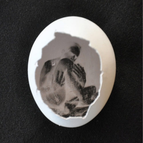 The Pinhegg turn an egg into a pinhole camera