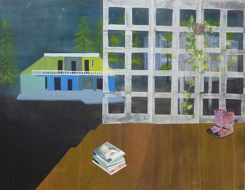 Artist Emma Tryti painter painting