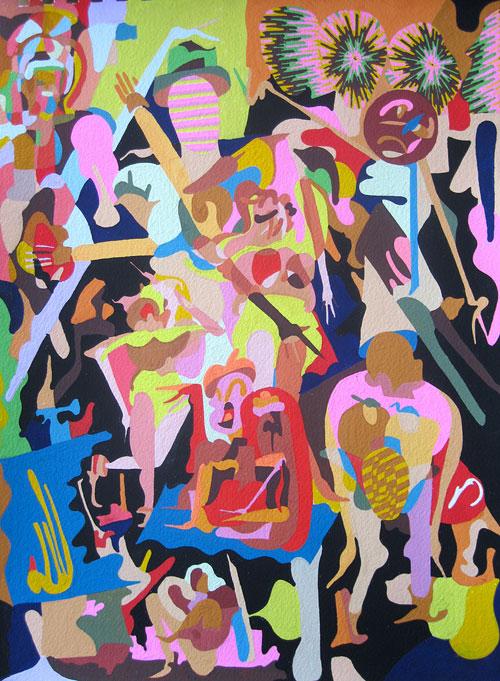 Artist Eric Shaw