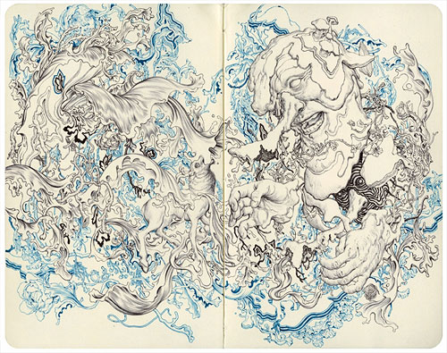 Artist painter James Jean