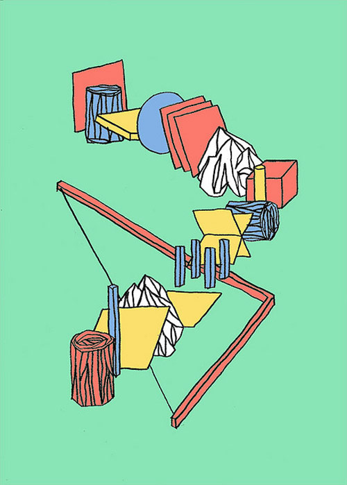 Artist Jeremy Perrodeau drawings