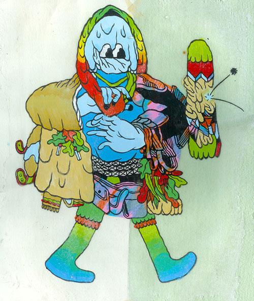 Drawings by artist Patrick Kyle