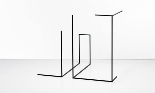 Sculptures by artist Ron Gilad