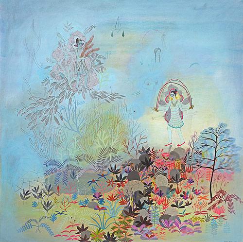 Artist Betsy Walton drawings
