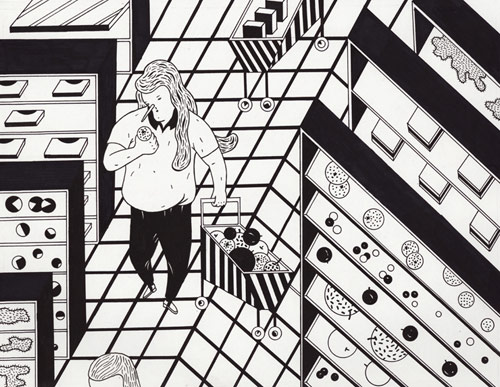 Illustrator Jeong Hwa Min illustration