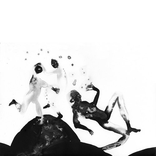 Drawings by artist Nadia Moss