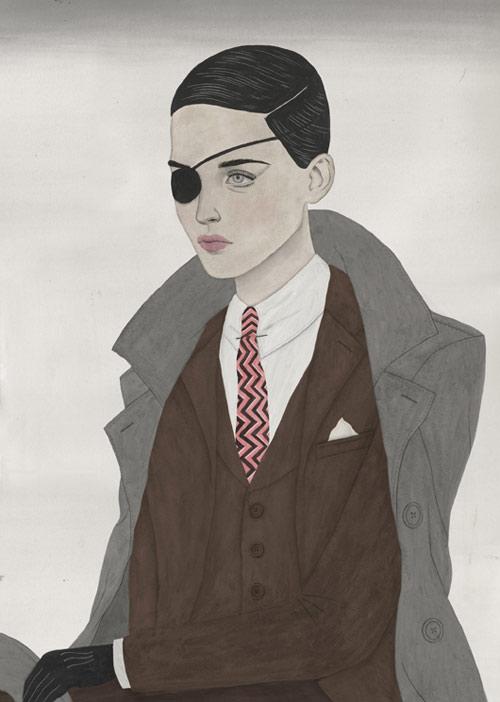 Illustrator Paul X Johnson illustrations